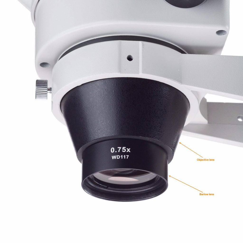 barlow lens attachment
