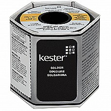 Kester 44 Rosin Core Leaded Eutectic Solder 63/37, 0.020""